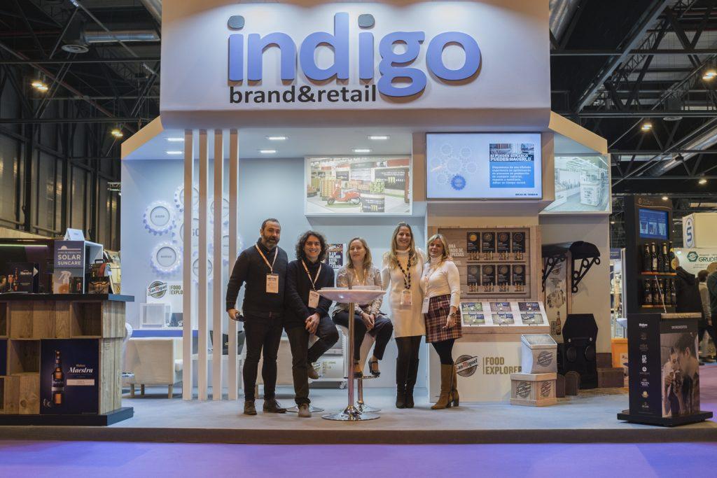 Empack 2016 Indigo stand