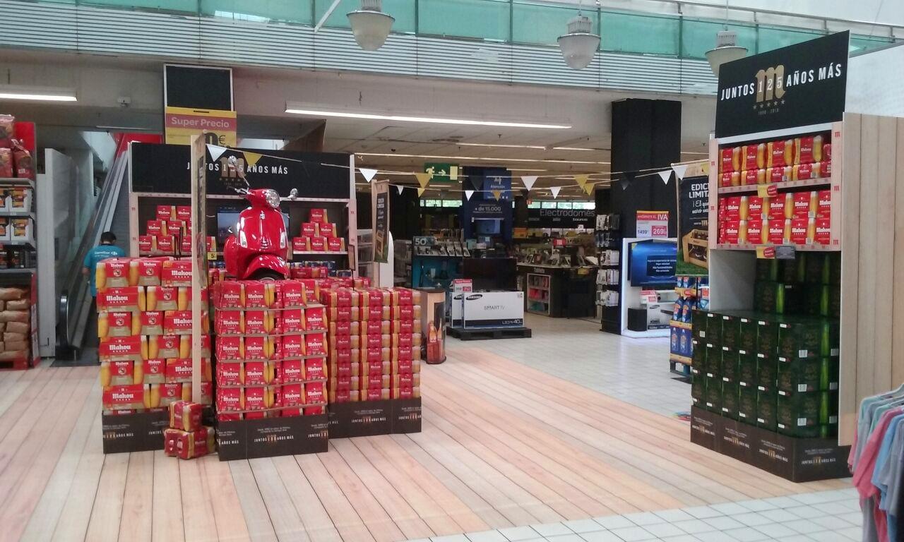 Mahou 125 aniversario supermercado Getafe