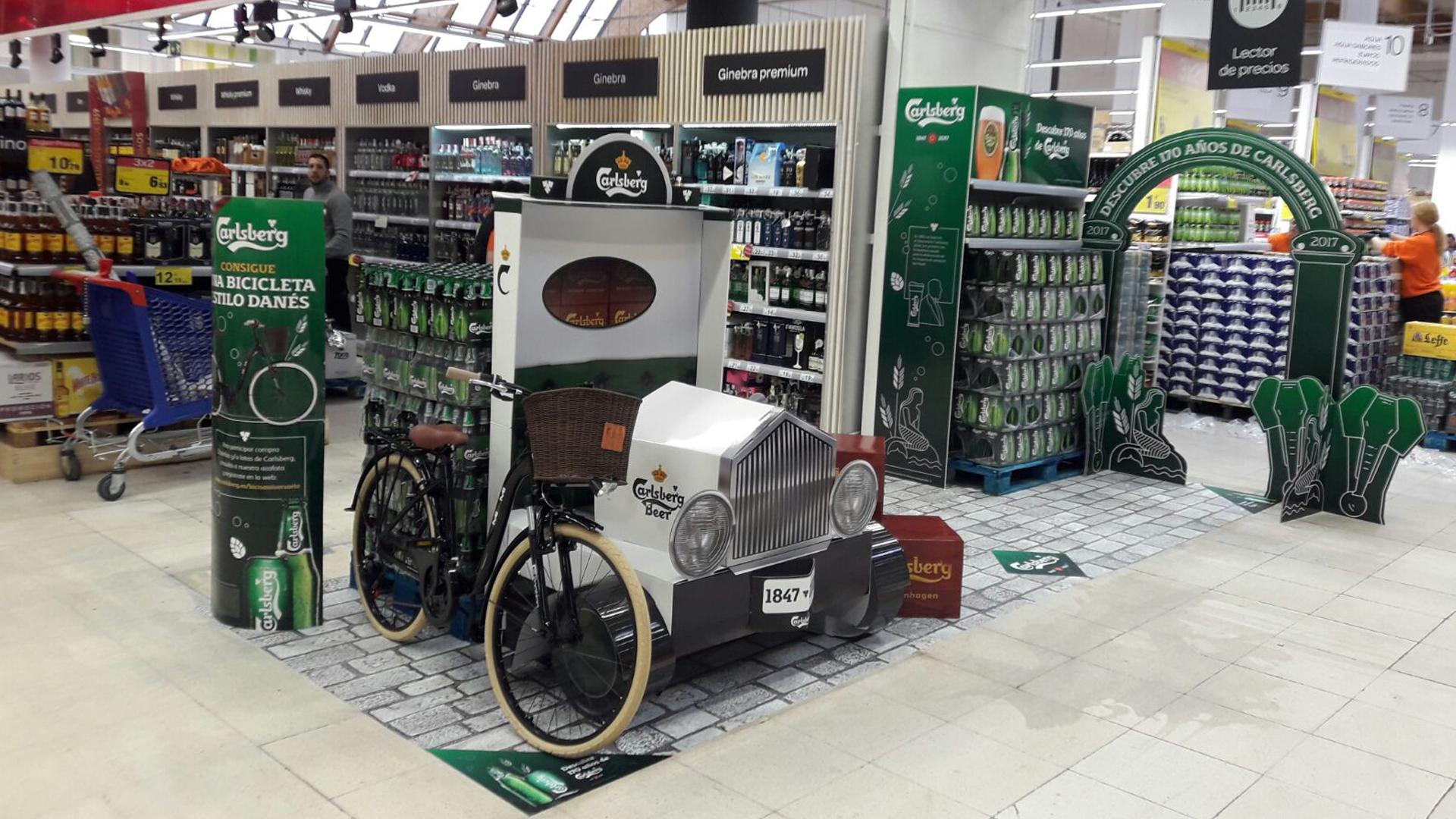 170 aniversario Carlsberg punto de venta Indigo