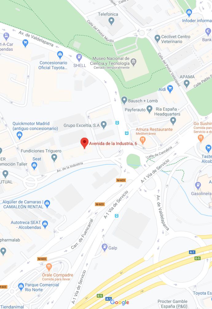 Google maps indigo