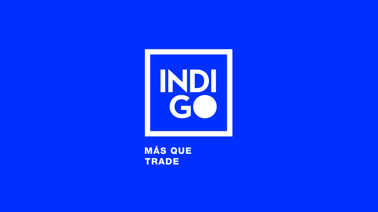 Indigo identidad creatividad trade marketing