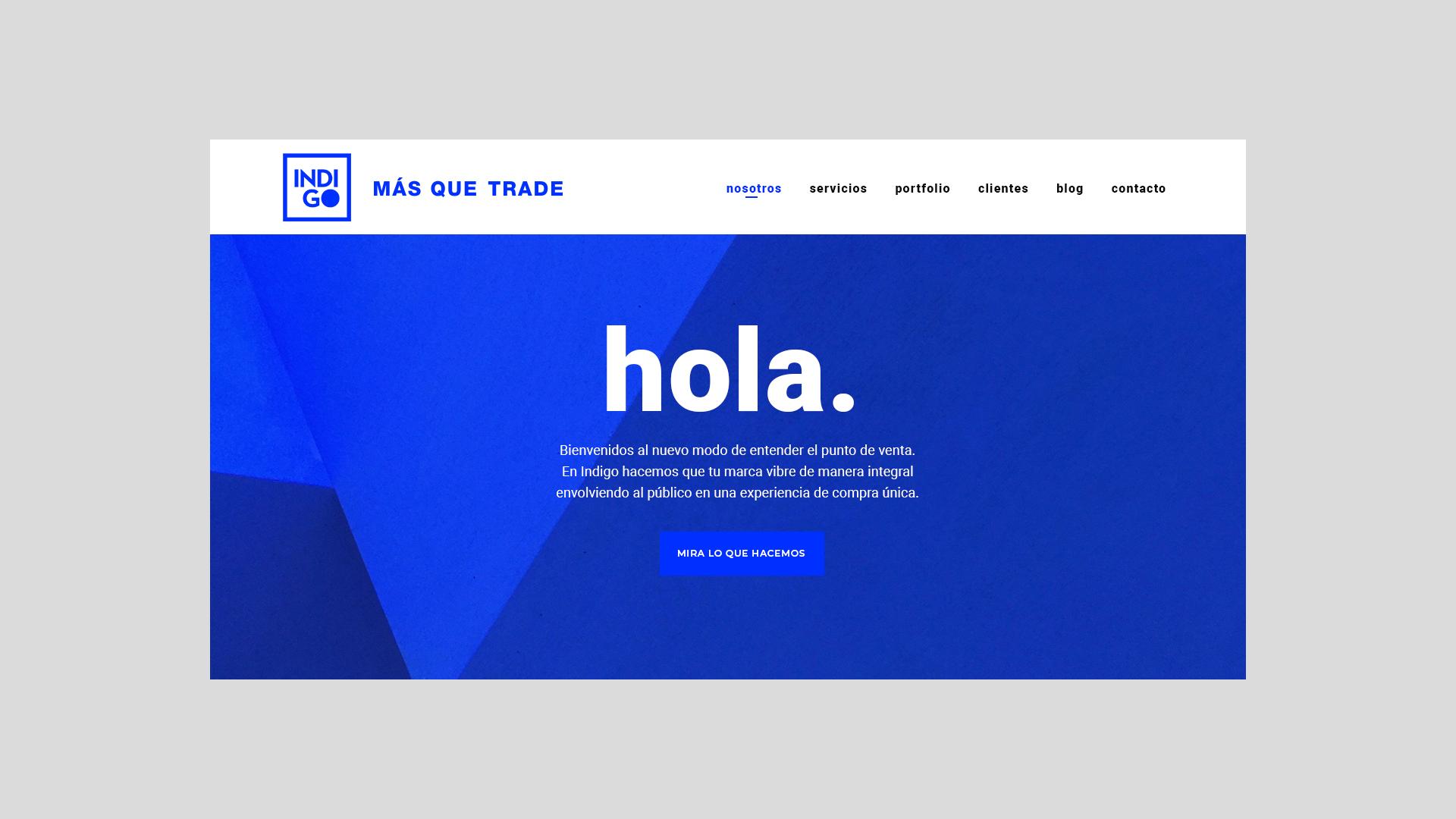 Indigo web trade marketing 360